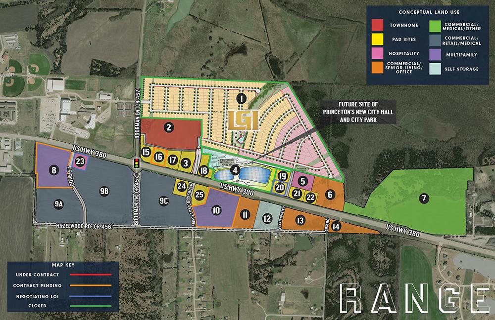Princeton Crossroads Mixed Use Site Plan