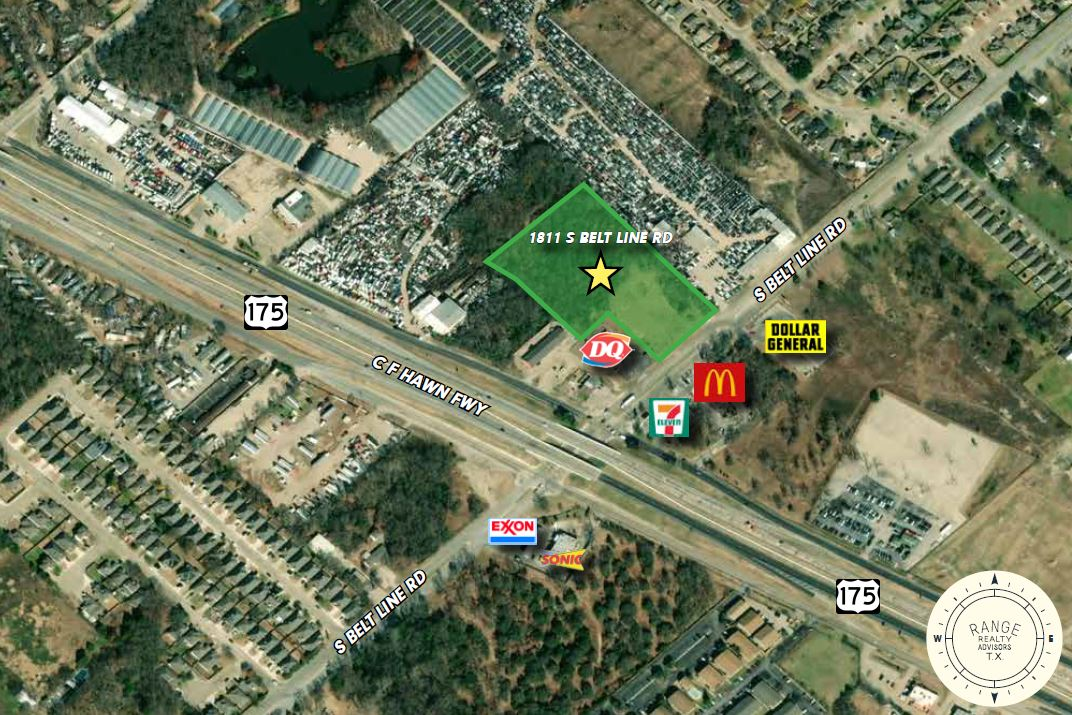 1811 S Belt Line Rd - Land for Sale Dallas Texas