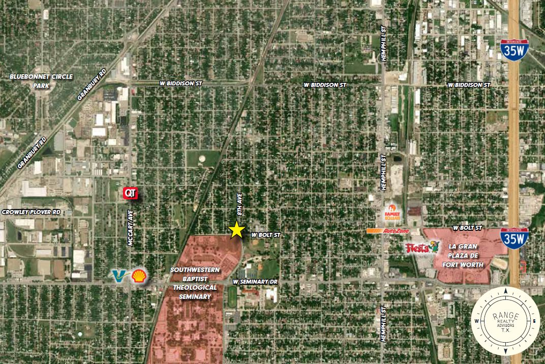 4040 8th Avenue - Retail Property for Sale Fort Worth Texas